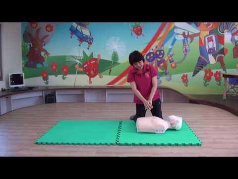 臺南市政府教育局心肺復甦術(CPR)研習實作示範教學影片 - YouTube