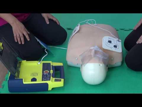 臺南市政府教育局心肺復甦術(CPR)研習實作示範教學影片_CPR + AED - YouTube